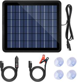12V Solar Trickle Charger Power Solar Panel Battery Charger