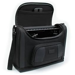 Tablet Messenger Carrying Bag with Weather Resistant Exterio