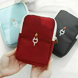 Travel Electronic Accessories Storage Bag Portable Charger U