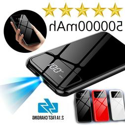 ultra thin portable power bank 500000mah external