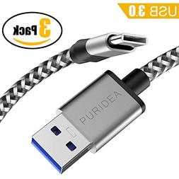 Puridea USB 3.0 Type C Cable, USB C Cable 6FT Nylon Braided