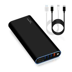 BatPower USB C Portable Charger External Battery Power Bank