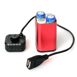 waterproof 5v usb portable 4x aa battery