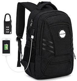 KOLAKO Business Laptop Backpack, Waterproof Casual Hiking Tr