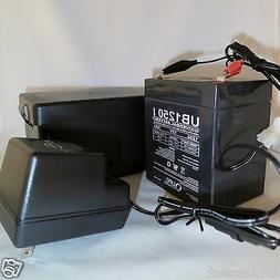 WEATHERPROOF 12VOLT RECHARGEABLE PORTABLE BATTERY POWER PACK