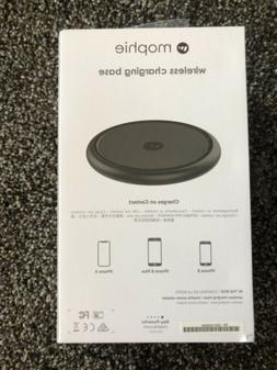 wireless charging base black for iphone samsung